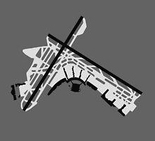 LaGuardia Airport Diagram by vidicious