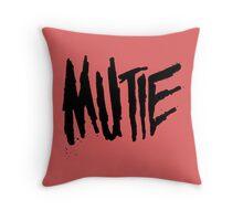 Mutie Throw Pillow