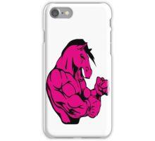 MUSCULAR HORSE !!! iPhone Case/Skin