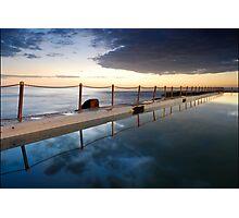 Pool side Photographic Print