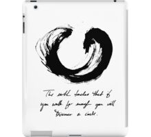 Lessons From the Earth 2 iPad Case/Skin