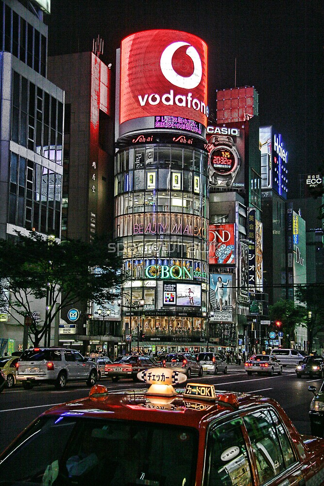 Ginza Lights by sparrowhawk