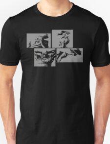 Cowboy Bebop Panels 2 Unisex T-Shirt