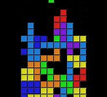Tetris2 by Sid3walk Art