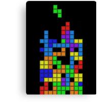 Tetris2 Canvas Print