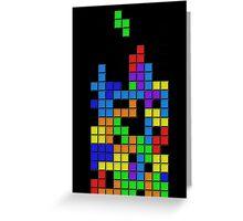 Tetris2 Greeting Card