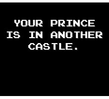 Your Prince is in Another Castle Photographic Print