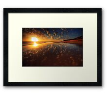 Wet Sand #2 Framed Print