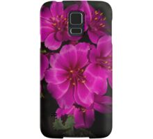 Shocking Pink and Fuchsia - a Vivid Succulent Bouquet Samsung Galaxy Case/Skin