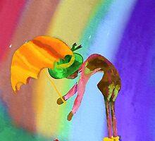 Raindrops by F. Magdalene Austin