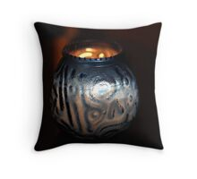 Candle II Throw Pillow