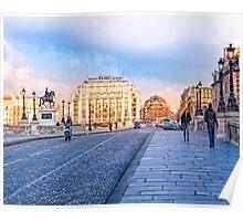 La Samaritaine - Scenic Streets of Paris Poster