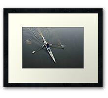 Early Rower Framed Print