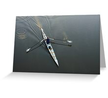 Early Rower Greeting Card