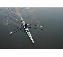 Early Rower Photographic Print