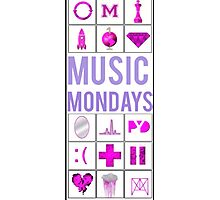 Justin Bieber Music Mondays, Journals Photographic Print