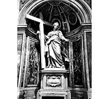 religious statue Photographic Print
