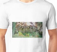 Mother Shiptons Dropping Well Panorama - Knaresborough Unisex T-Shirt
