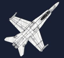 F 18 Hornet Jet Fighter by quark