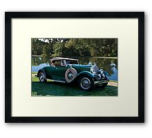 1929 Packard 645 Dietrich Roadster Framed Print
