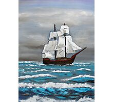 Sails Flapping Photographic Print