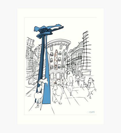 El Sireno de Vigo Art Print