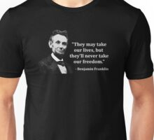 Abraham Lincoln Troll Quote Unisex T-Shirt