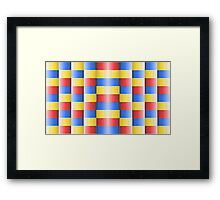 Primary Gradient Framed Print