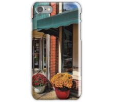 Fall Flowers in Town iPhone Case/Skin