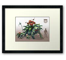 -Venusaur- Framed Print