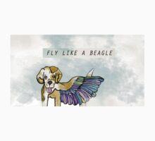 Fly Like A Beagle by Kayleigh Morin