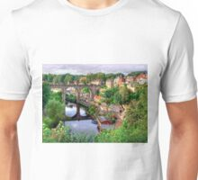 View From The Castle - Knaresborough Unisex T-Shirt