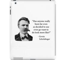 Friedrich Nietzsche Troll Quote iPad Case/Skin
