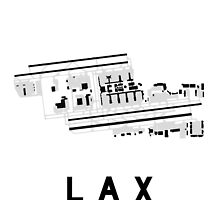 Los Angeles Airport Diagram by vidicious