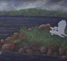 Oneida Lake - North Shore by karen pankow