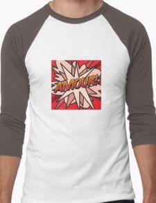 Amour! Men's Baseball ¾ T-Shirt