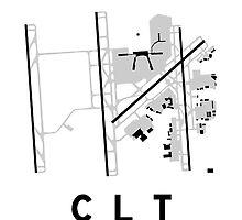 Charlotte Airport Diagram by vidicious