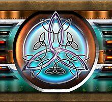 Shield Celtic Triquetra by Bluesax