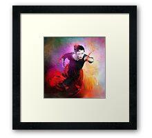 Flamencoscape 03 Framed Print