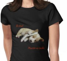 Phone - A - Holic Womens Fitted T-Shirt