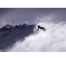 Surfing a Storm Photographic Print