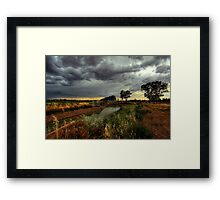 The Wind Cries Constance Framed Print