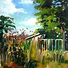 backyard by Paul  Milburn