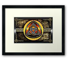 Shield Celtic Framed Print