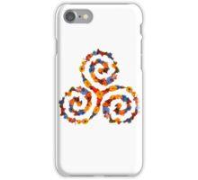 Flower Power- triskell iPhone Case/Skin