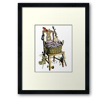 Changeling Baby Framed Print