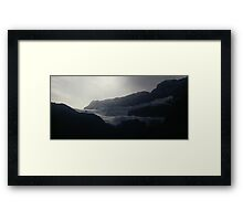 COLUMBIA ICEFIELDS Framed Print