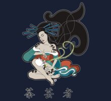 Tea Geisha Tee by thickblackoutline