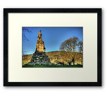 Black Watch Memorial Framed Print