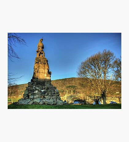Black Watch Memorial Photographic Print